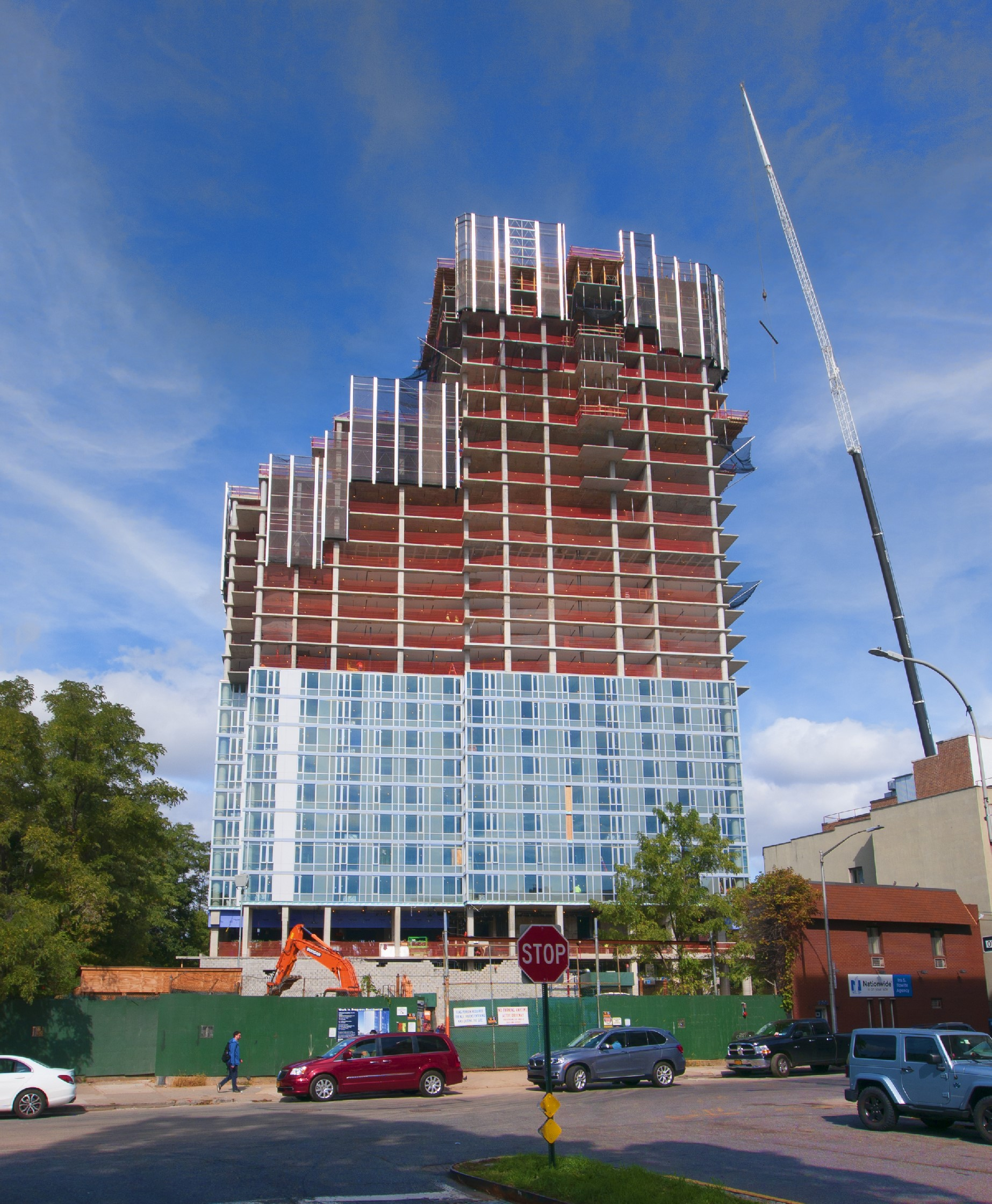 Concrete Superstructure: 1501 Voorhies Ave. Brooklyn, NY 31 Story
