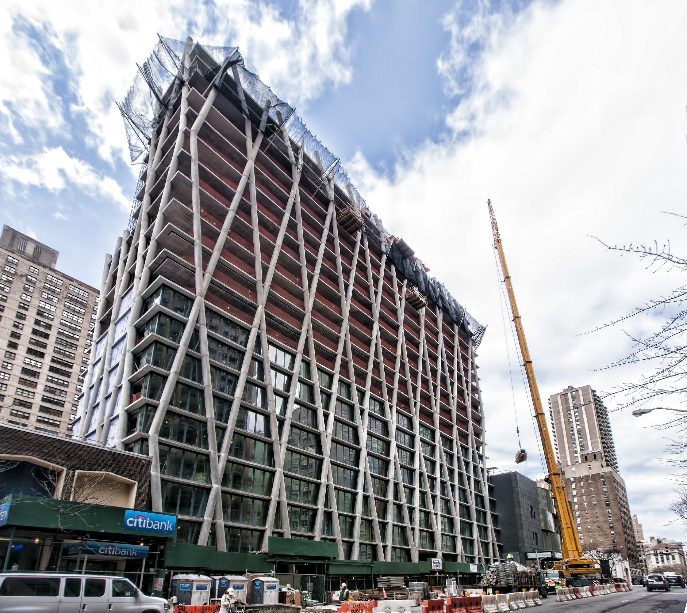Concrete Superstructure: 170 Amsterdam Ave. New York, NY 21 Story Concrete